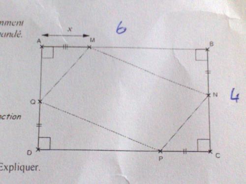 aire d 39 un quadrilat re plac dans un rectangle forum math matiques. Black Bedroom Furniture Sets. Home Design Ideas