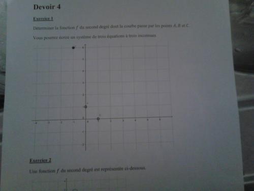 Exercicede math